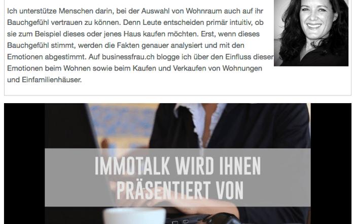 Hier geht's zum Immobilienblog auf businessfrau.ch